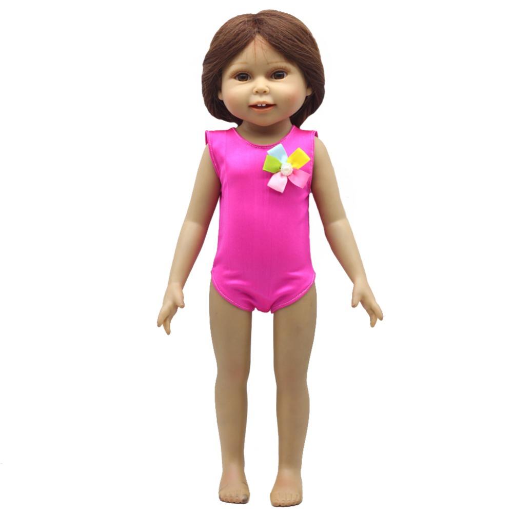 Rose Christmas Gift 18 Inch American Girl Doll Swim
