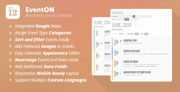 Eventon – Wordpress Event Calendar Plugin – Wooaffiliates