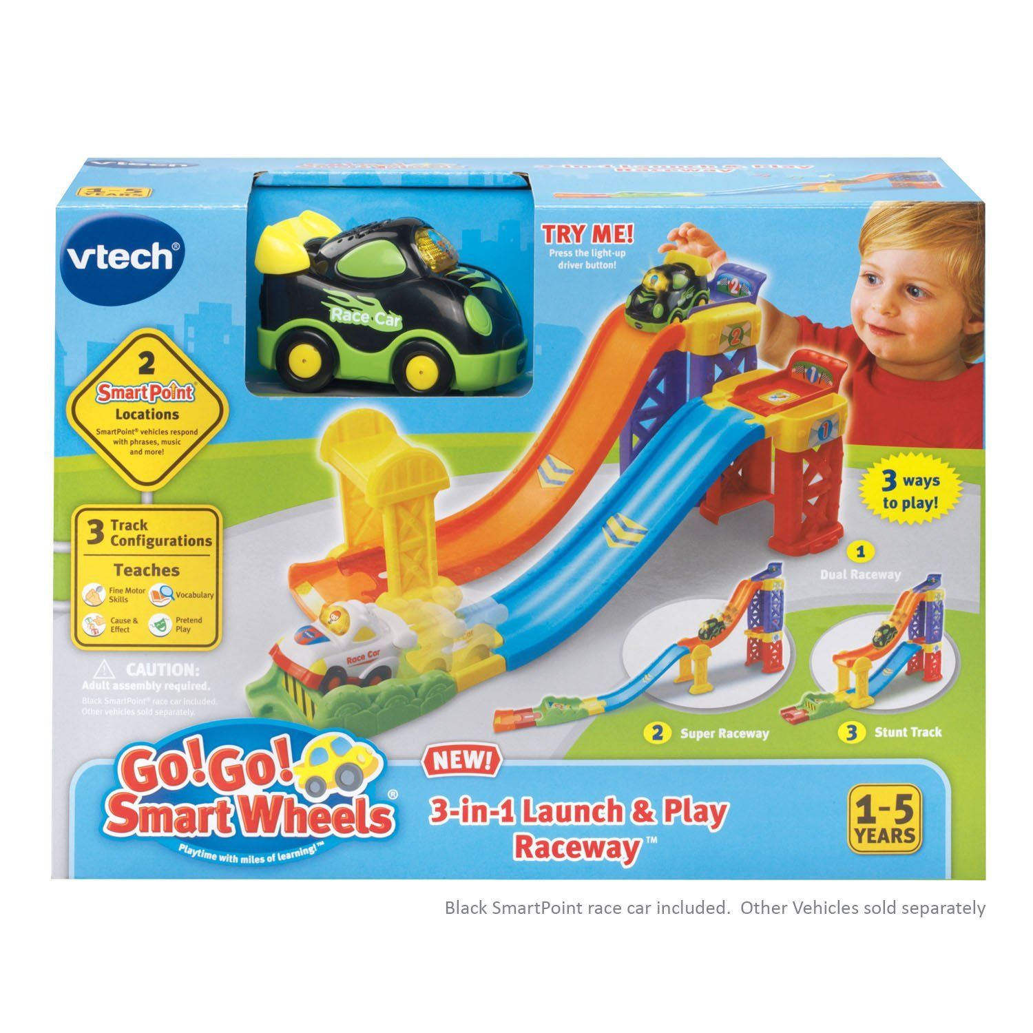 3ff22612ce7a Toddler Baby Toys Boys Girls Launch Car 6 12 18 24 36 Month Age Year ...